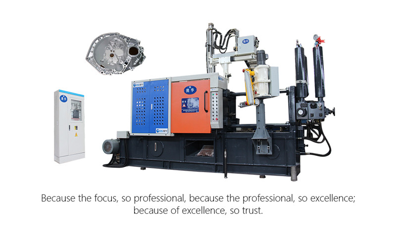 easy control die casting machine